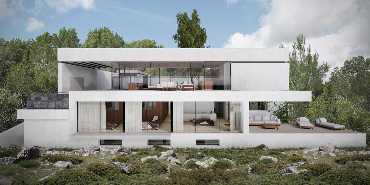 Llucmajor 102 estudio cano arquitectura mallorca - Estudio arquitectura mallorca ...
