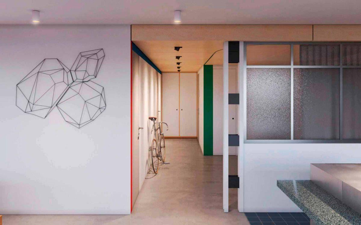 Reforma Arquitectos apartamento Palma Casco antiguo Mallorca
