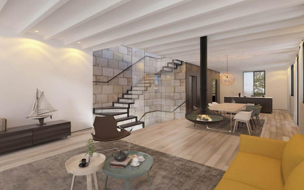Arquitectos apartamentos Palma Haus Mallorca Deutsch