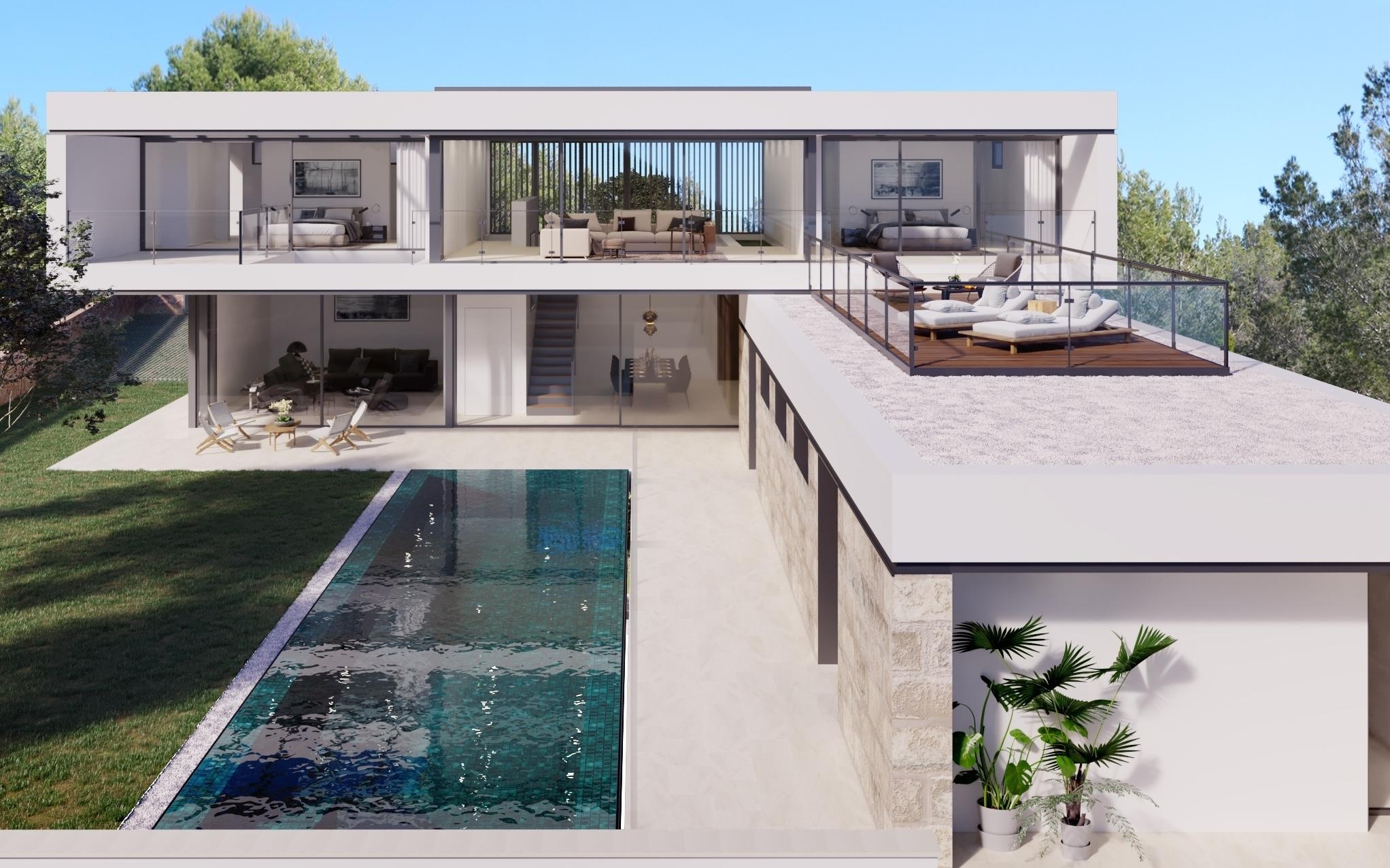 Vivienda Arquitectos Calvia Mallorca
